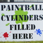 Large Coroplast Outdoor Sign - Corrugated Plastic